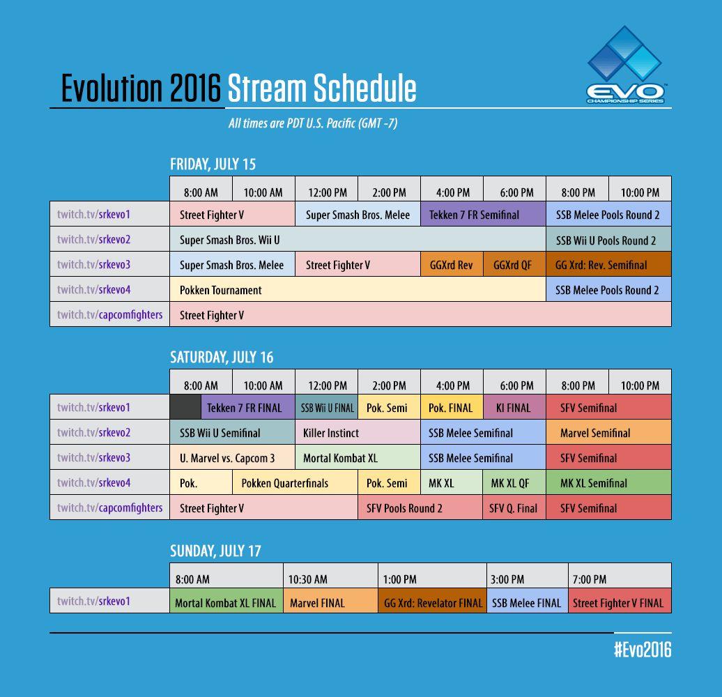 Evo_2016_Stream_Schedule